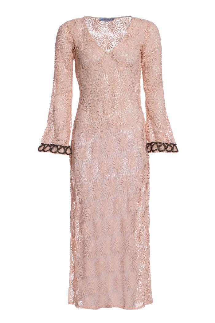 SAND CROSHET DRESS