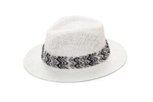 WHITE & BLACK MISSO HAT
