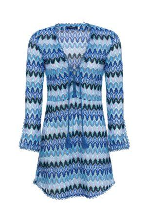 BLUE MELANIA DRESS