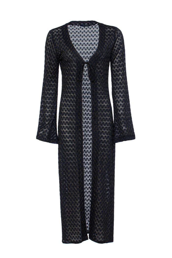 BLACK & GOLD MIAMI DRESS