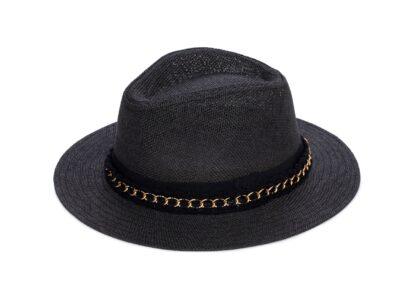 BLACK & GOLD MIAMI HAT