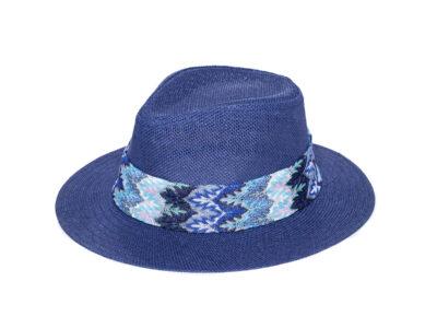 BLUE & BLUE MELANIA HAT