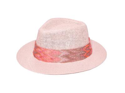 PEACH MELANIA HAT