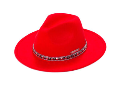 NY RED&SILVER HAT