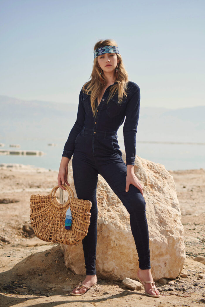 JEANS OVERALL TOTAL LOOK